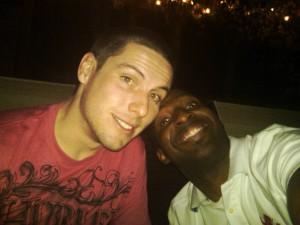 Me & James